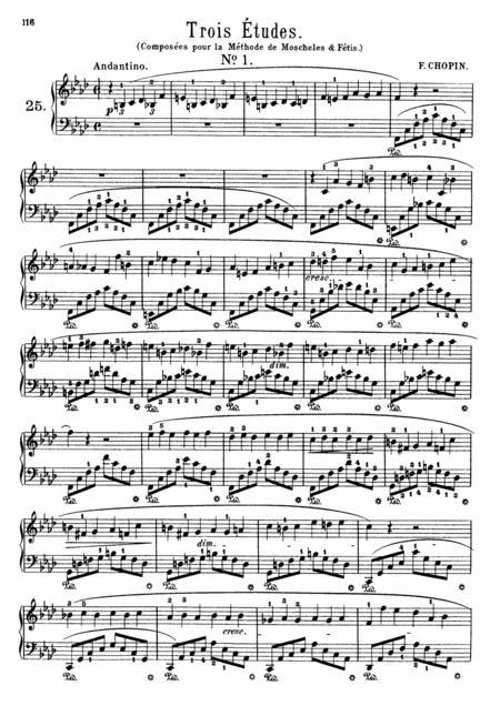 F.Chopin-Trois nouvelles etudes, B.130