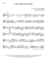 Can't Stop The Feeling - String Quartet