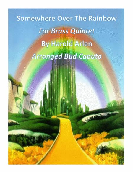Over The Rainbow (from The Wizard Of Oz) for Brass Quintet