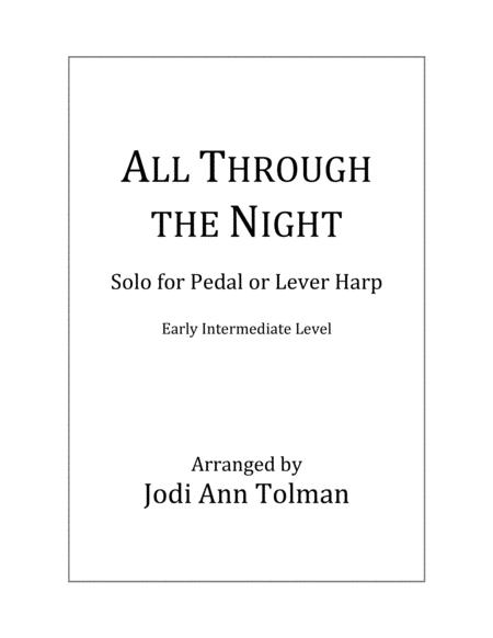 All Through the Night, Harp Solo