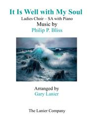 IT IS WELL WITH MY SOUL (Ladies Choir - SA with Piano)