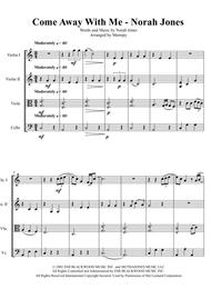 Come Away With Me - Norah Jones (arranged for String Quartet)