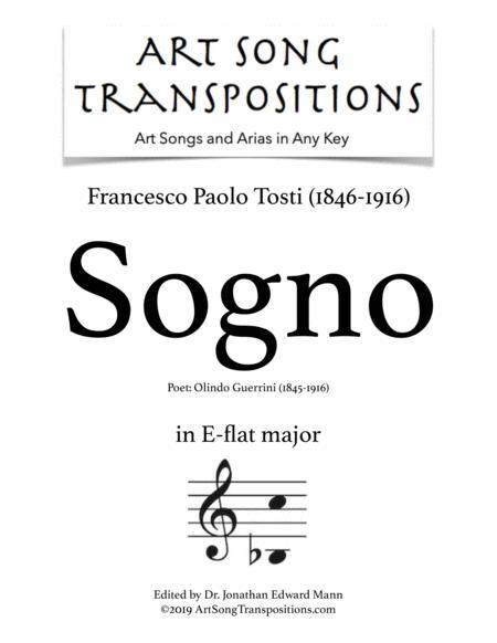 Sogno (E-flat major)