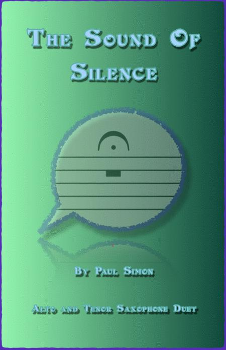 The Sound Of Silence, Alto and Tenor Saxophone Duet