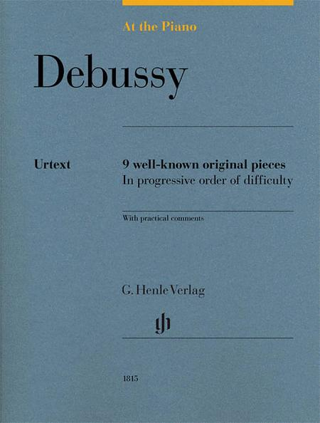 At the Piano - Debussy