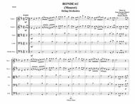 Rondeau (Mouret) - String Orchestra - Intermediate