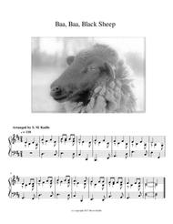 Baa! Baa! Black Sheep