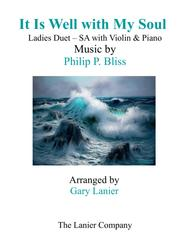 IT IS WELL WITH MY SOUL(Ladies Duet - SA with Violin & Piano)