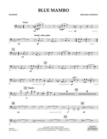 Blue Mambo - Bassoon