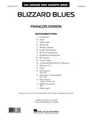 Blizzard Blues - Conductor Score (Full Score)