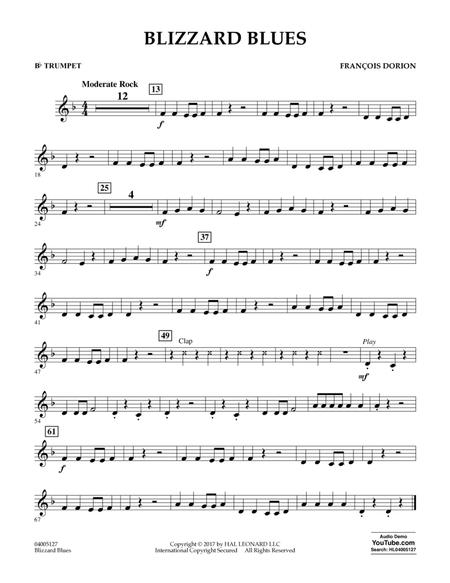 Blizzard Blues - Bb Trumpet