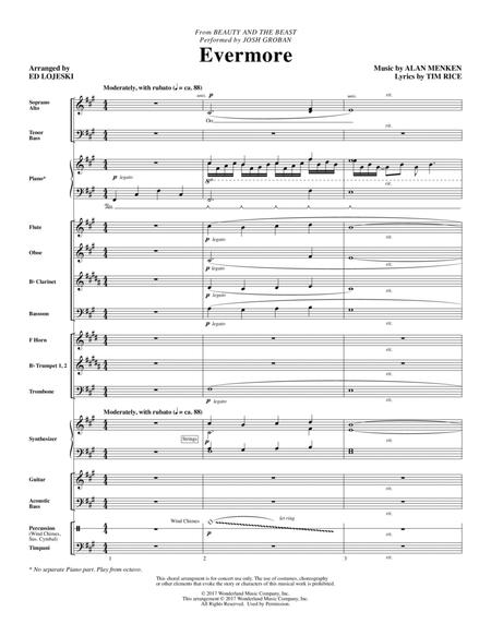 Evermore - Full Score