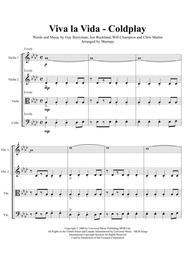 Viva La Vida - Coldplay (arranged for String Quartet)