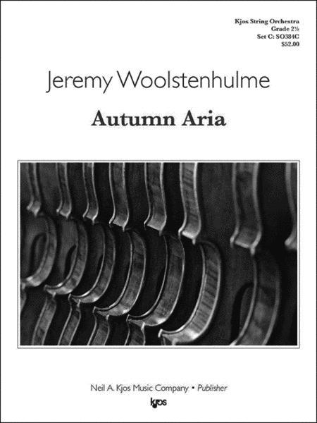 Autumn Aria - Score