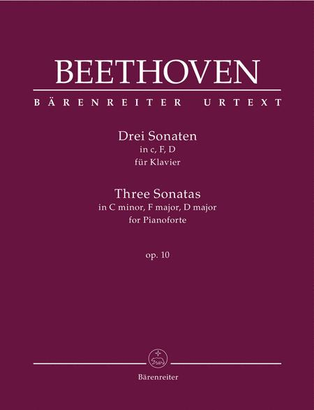 Three Sonatas for Pianoforte