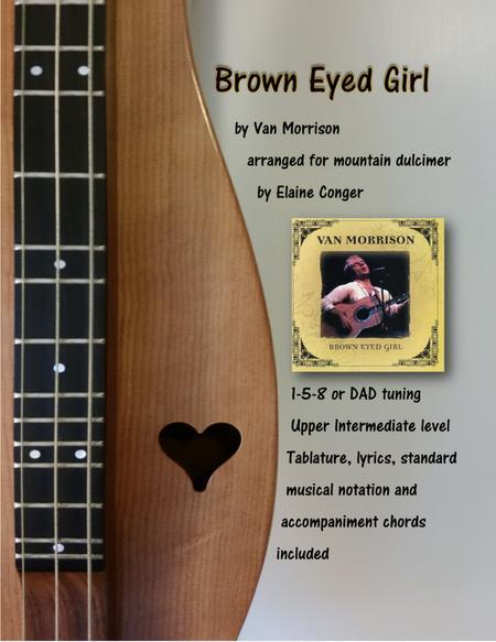 Download Brown Eyed Girl Sheet Music By Van Morrison - Sheet Music Plus