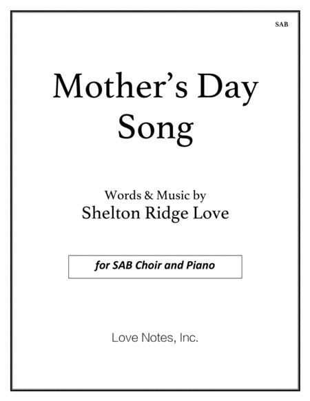 Mother's Day Song (SAB)