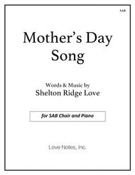 download mother s day song sab sheet music by shelton ridge love