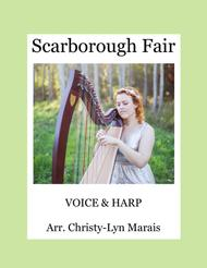 Scarborough Fair (Harp & Voice) D minor