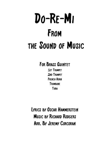Do-Re-Mi for Brass Quintet