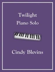Twilight, an original solo for Piano