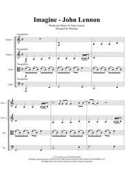 Imagine - John Lennon (arranged for String Quartet)