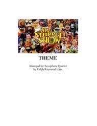 The Muppet Show Theme (for saxophone quartet)