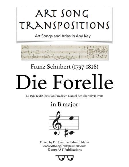 Die Forelle, D. 550 (B major)
