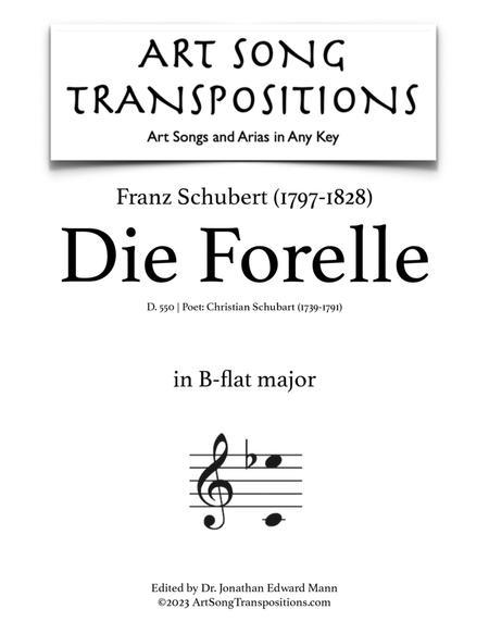 Die Forelle, D. 550 (B-flat major)