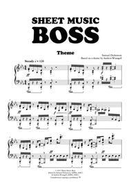 Sheet Music Boss Theme (Piano)