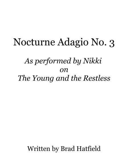 Nocturne Adagio No. 3