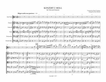 Viola Concerto in C-Minor