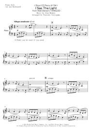 < Short EZ Piano #134 > I See The Light from Walt Disney's TANGLED