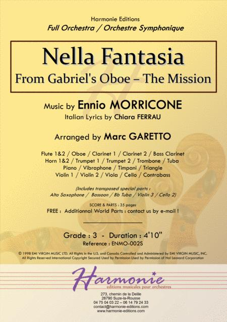 NELLA FANTASIA - adapted from Gabriel's Oboe - The Mission // Ennio MORRICONE // FULL ORCHESTRA