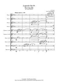 Dvorak: Legends Op.59 Mvt.5 in Ab - wind Dectet