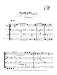 Can't Buy Me Love - String Quartet - Beatles arr. Cellobat - Recording Available!