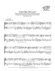 Can't Buy Me Love - Violin & Cello Duet - Beatles arr. Cellobat - Recording Available!
