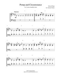 Pomp and Circumstance - for 2-octave handbell choir