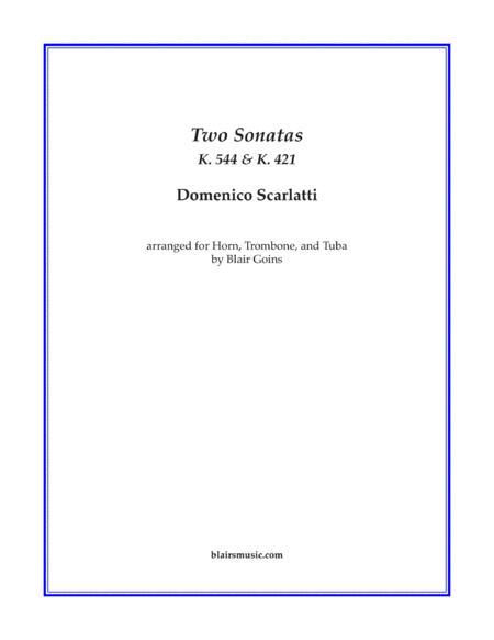 Sonatas K. 421 and K. 544