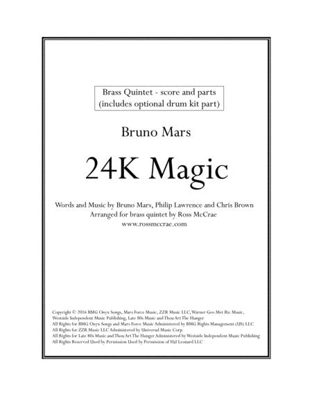 24K Magic (Brass Quintet)