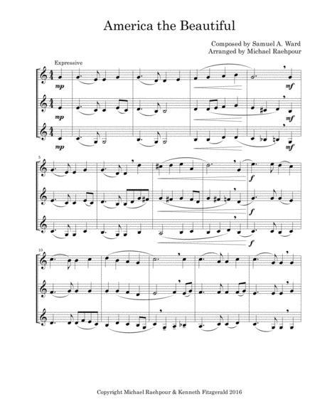 America the Beautiful - Trumpet Trio
