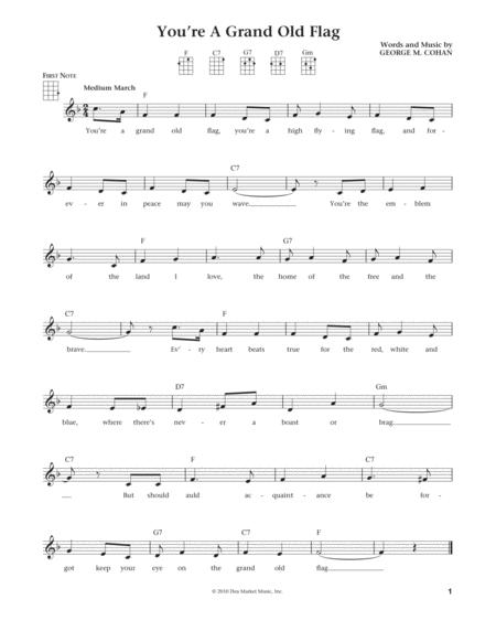 You're A Grand Old Flag (from The Daily Ukulele) (arr. Liz and Jim Beloff)