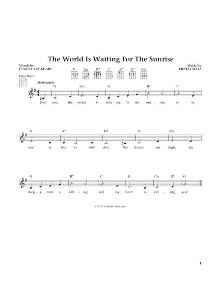 The World Is Waiting For The Sunrise (from The Daily Ukulele) (arr. Liz and Jim Beloff)