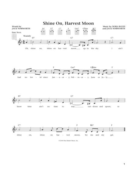 Shine On, Harvest Moon (from The Daily Ukulele) (arr. Liz and Jim Beloff)