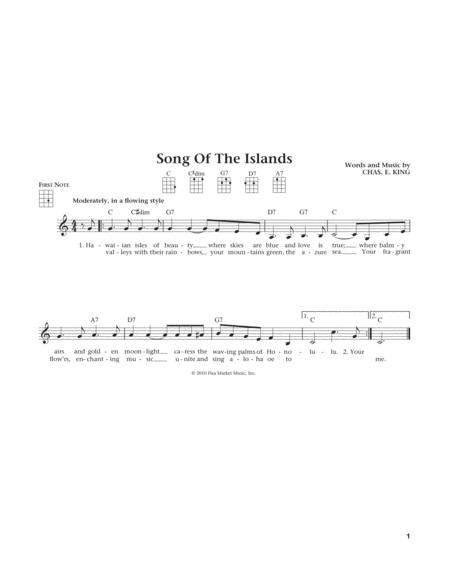 Song Of The Islands (from The Daily Ukulele) (arr. Liz and Jim Beloff)