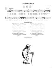 This Old Man (from The Daily Ukulele) (arr. Liz and Jim Beloff)