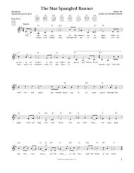The Star Spangled Banner (from The Daily Ukulele) (arr. Liz and Jim Beloff)