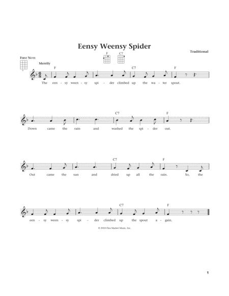 Eensy Weensy Spider (from The Daily Ukulele) (arr. Liz and Jim Beloff)