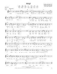 Help! (from The Daily Ukulele) (arr. Liz and Jim Beloff)
