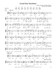 Good Day Sunshine (from The Daily Ukulele) (arr. Liz and Jim Beloff)